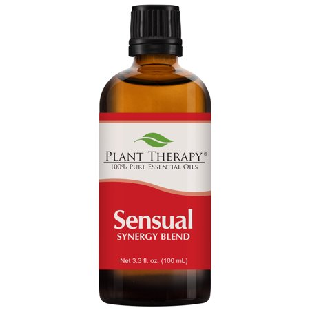 Plant Therapy Essential Oil | Sensual Synergy | Blend For Couples, Massage, Intimacy, Desire | 100% Pure | 100 mL