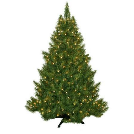 Pre-Lit 4.5' Vermont Fir Artificial Christmas Tree, 250 Clear Lights -  Walmart.com - Pre-Lit 4.5' Vermont Fir Artificial Christmas Tree, 250 Clear Lights