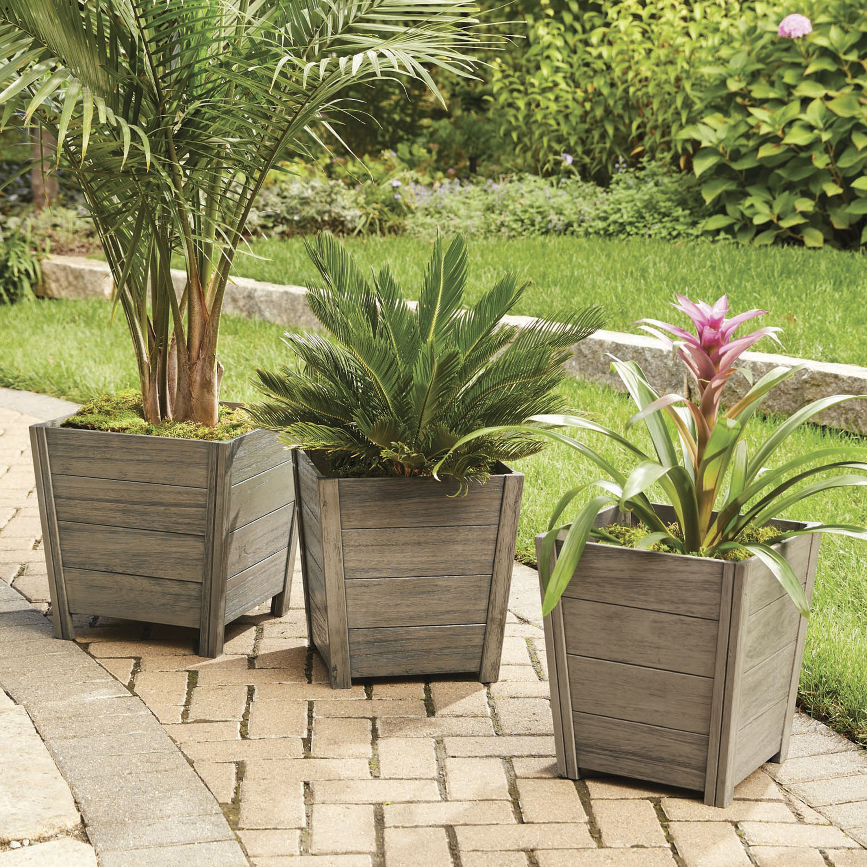 Better Homes and Gardens Cane Bay Outdoor Planter Small by TECTONA MARKETING SERVICES (S) PTE LTD