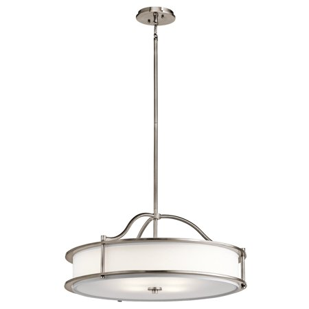 Pendants 3 Light With Classic Pewter Finish Steel Material Medium 18 inch 300 Watts ()