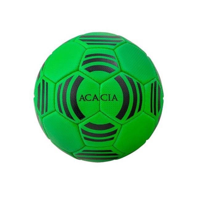 Acacia 24-105 Galaxy Soccer Ball - Green and Black, 5