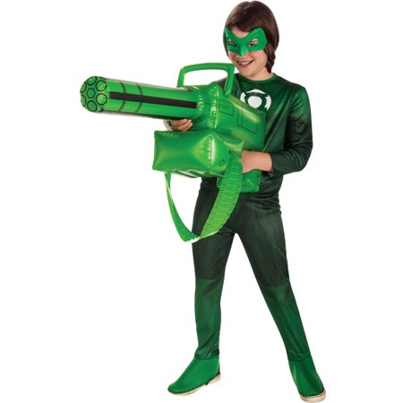 green lantern inflatable gatling gun accessory