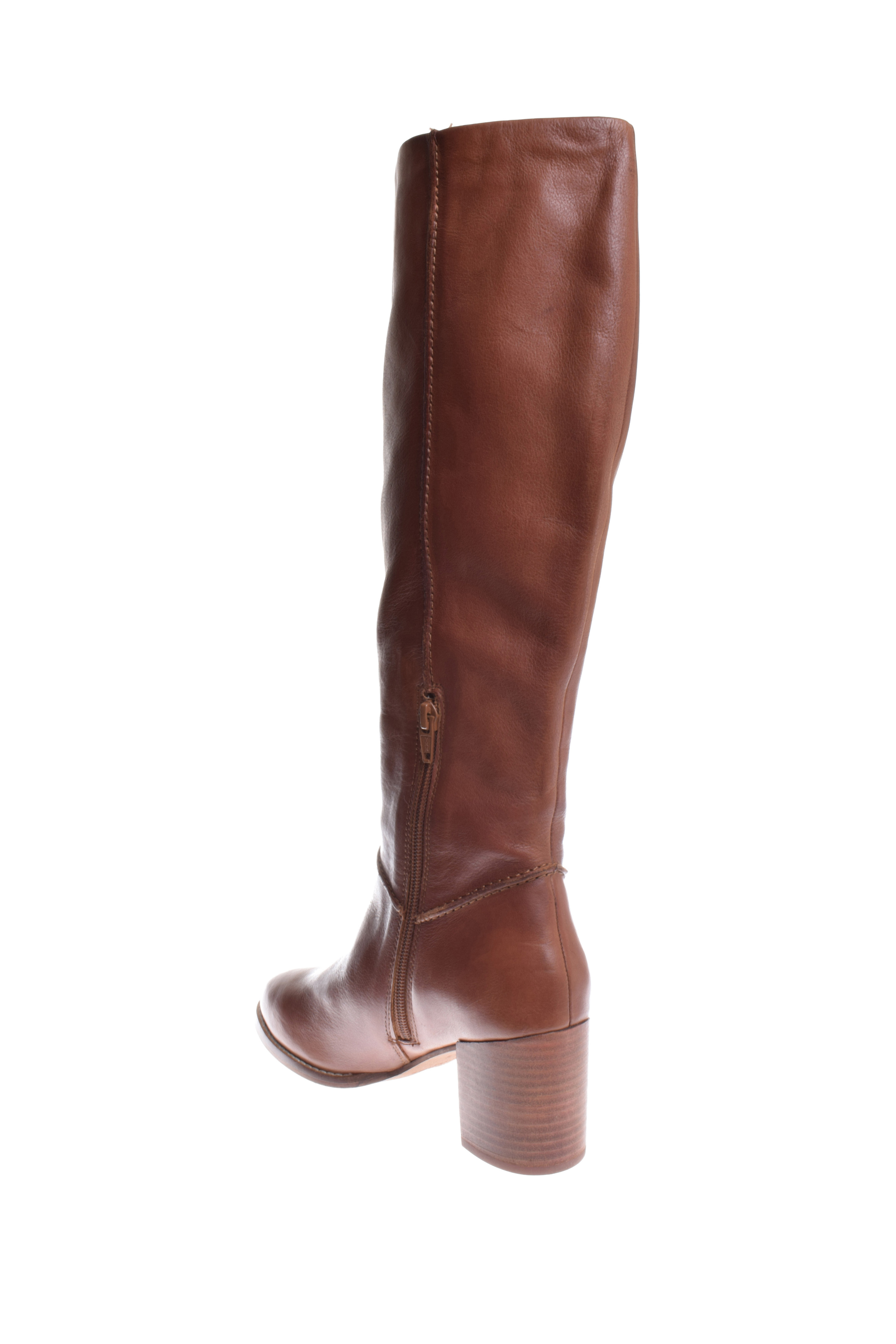 Seychelles Final Bow Knee High Whiskey Leather Boot - Whiskey High 2a6674