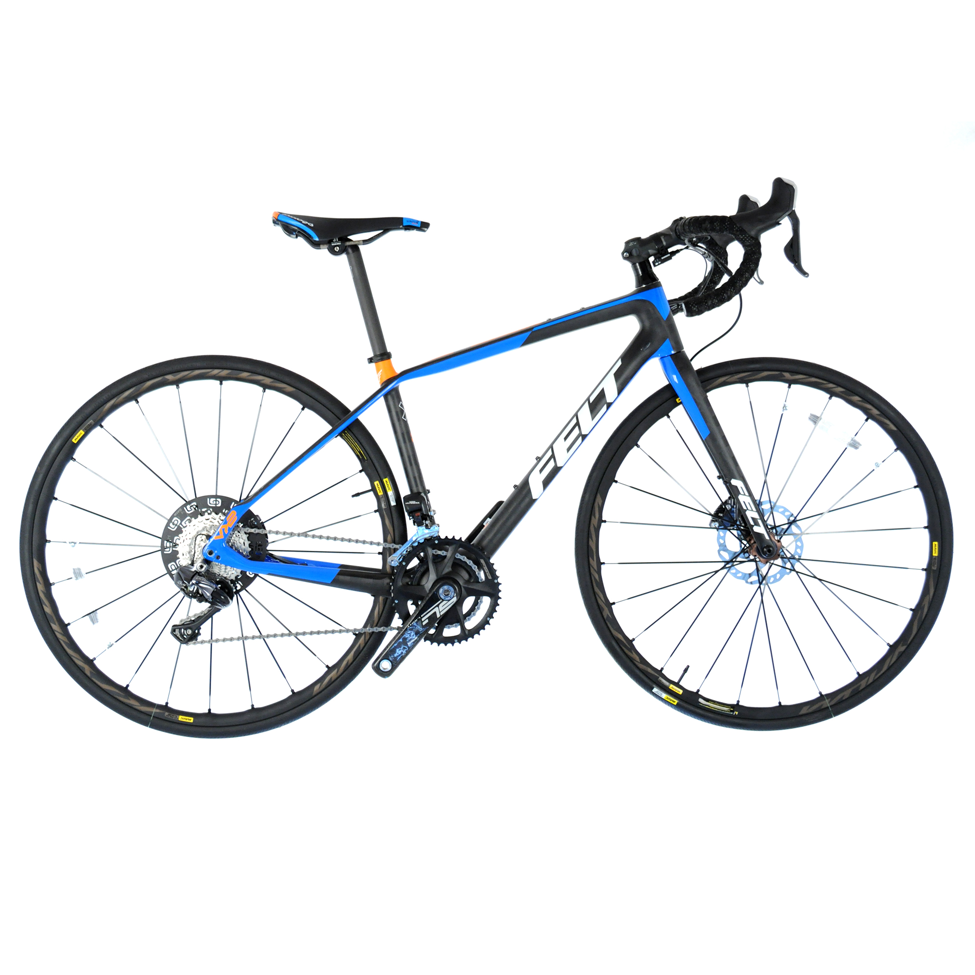 Felt VR2 Carbon Hydraulic Disc Road Bike Shimano Ultegra Di2 2x11-Speed // 47cm