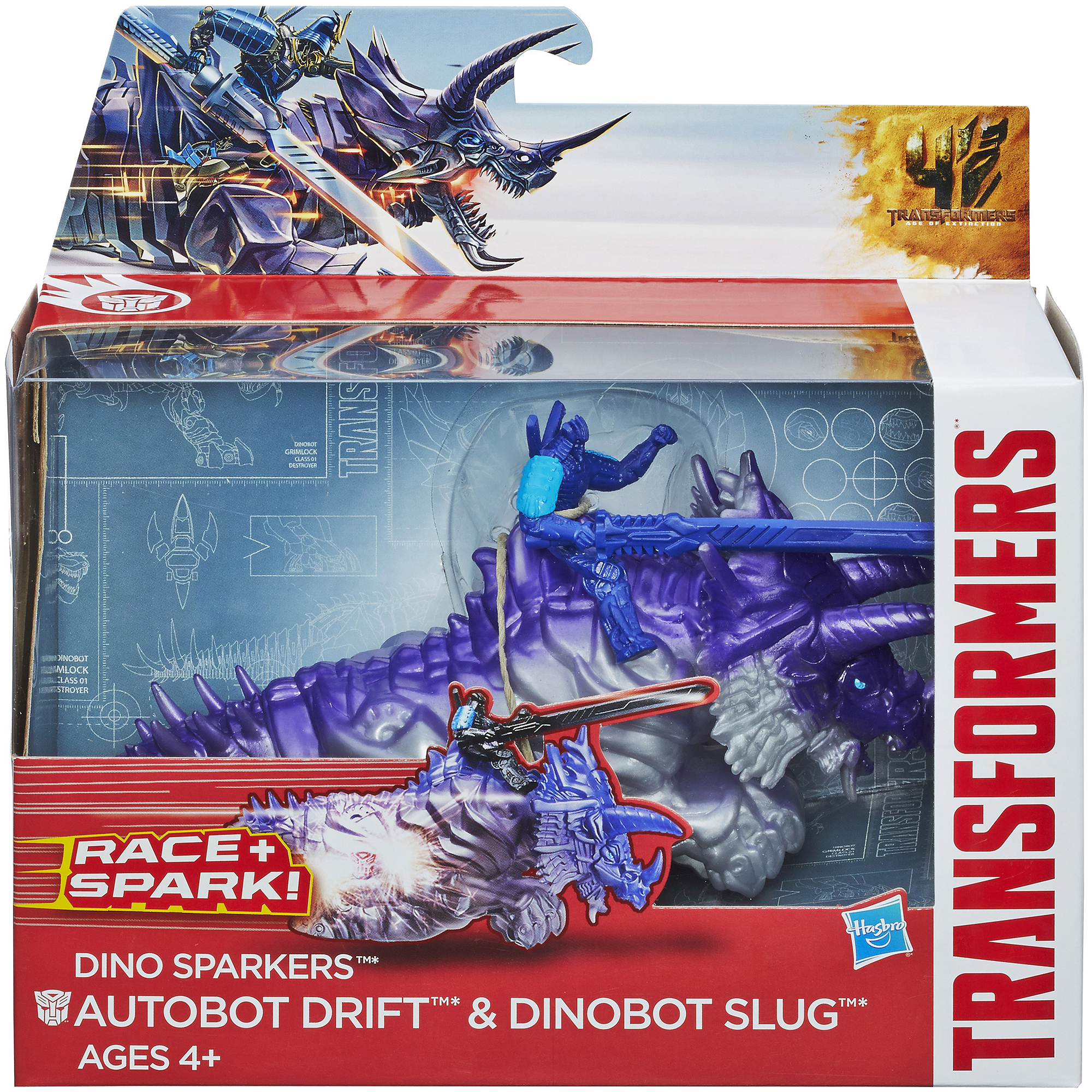 Transformers age of extinction dino sparkers autobot drift - Autobot drift transformers 5 ...