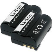2 Pack Replacement Battery for Olympus PSBLM1