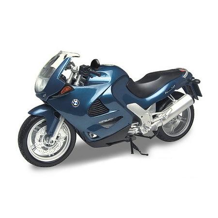 BMW K1200RS Blue 1/6 Diecast Motorcycle Model by Motormax