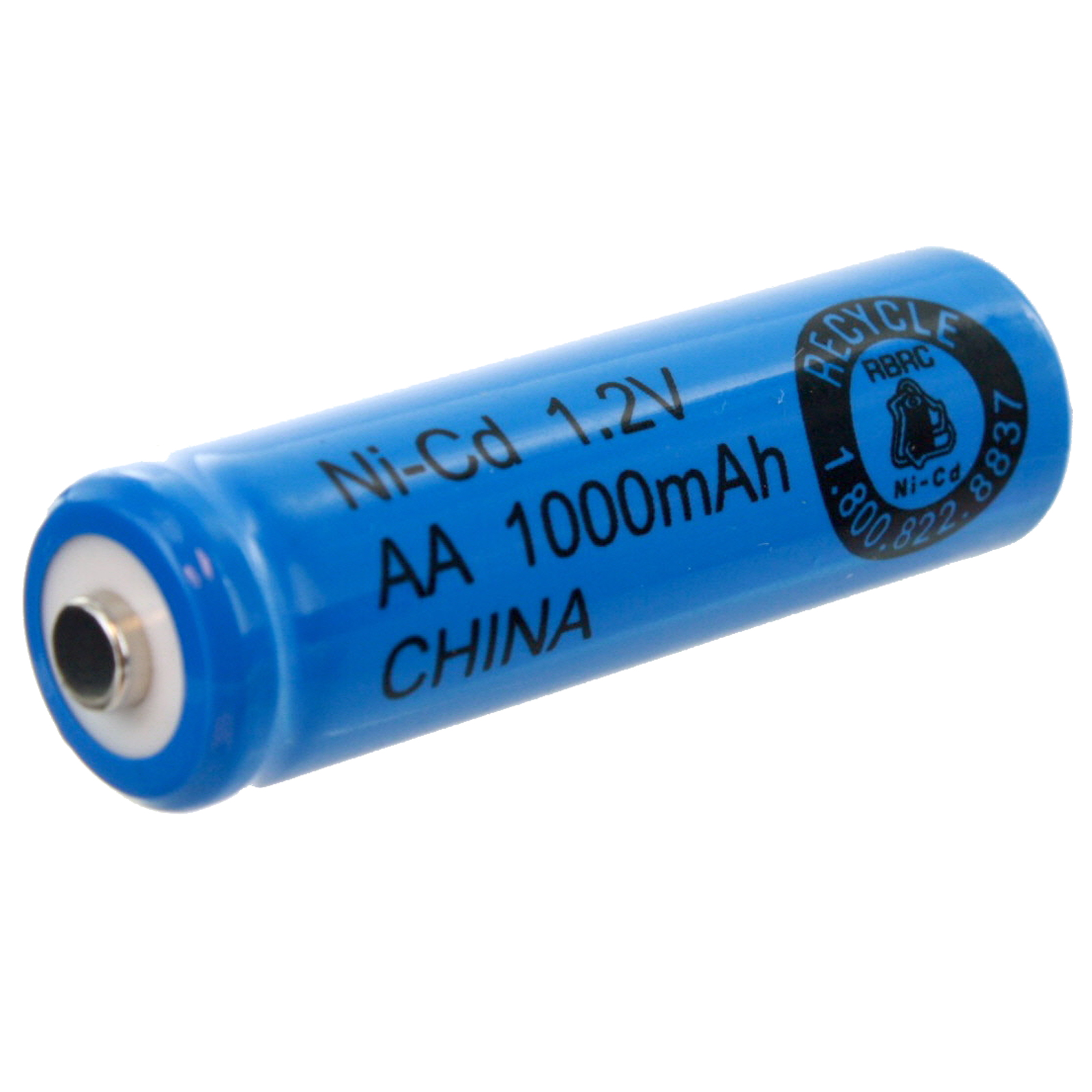 AA 1.2V 1000mAh NiCD Rechargeable Button Top Assembly Cell Battery FAST USA SHIP