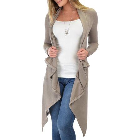 Lyss Loo - Lyss Loo Women s Good Natured Cozy Sweater Cardigan ... 2de298639