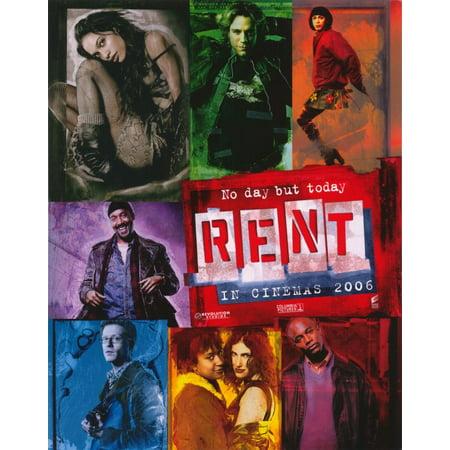 Rent  2005  11X14 Movie Poster