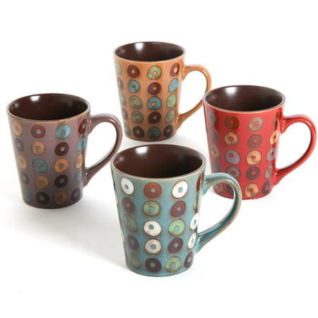 Mr. Coffee Coupa Cafe 13 oz Mugs, Set of 4