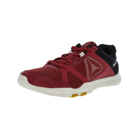 Reebok Men's Yourflex Train 10 Mt Magma / Chalk Gum Ankle-High Training Shoes -