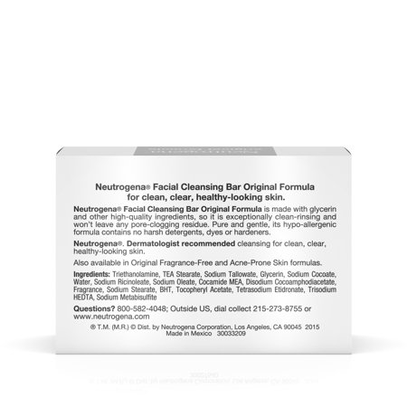 Best Neutrogena Original Gentle Facial Cleansing Bar with Glycerin, 3.5 oz deal