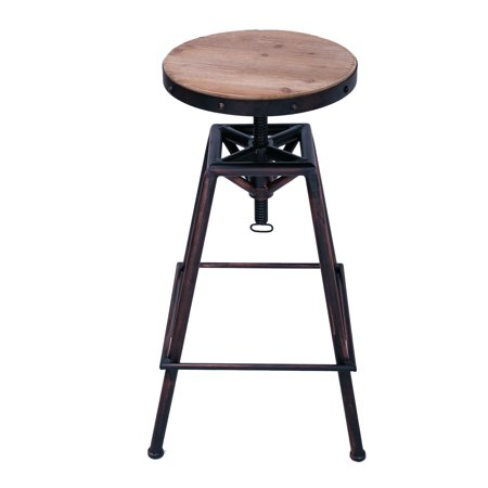 Joveco Metal Bar Stool Barstool Adjustable Height With
