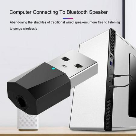 USB Bluetooth Music Audio Transmitter Adapter 4 2 Receiver For Computer TV  PC Bluetooth Adapter Speaker Headphone