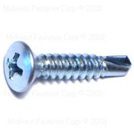 Midwest Fastener 7808 10 X 1 Phillips Oval Self Drilling Screws   5000 Piece