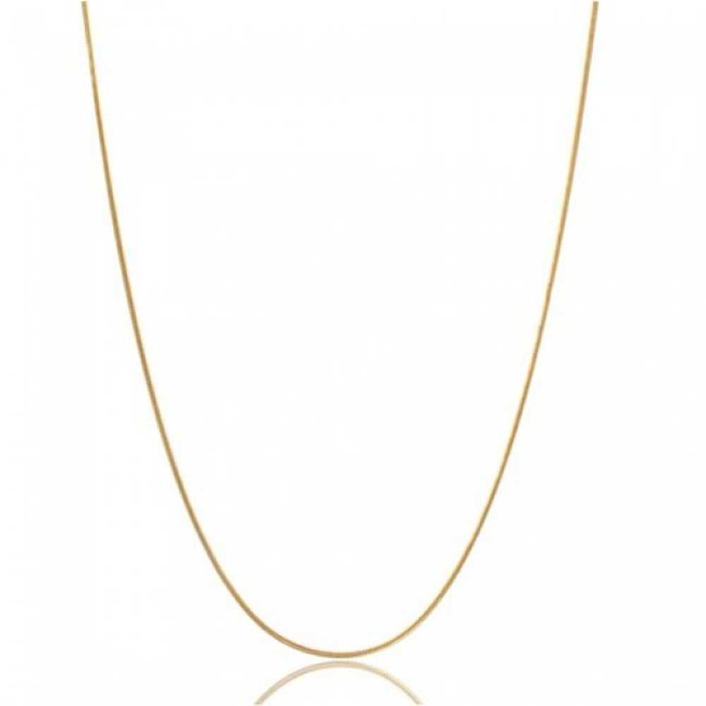 882422fcd19f9 Thin Snake Link Chain 1.5 MM 025 Gauge For Women Necklace 14K Gold Plated  925 Sterling Silver Made In Italy 20 Inch