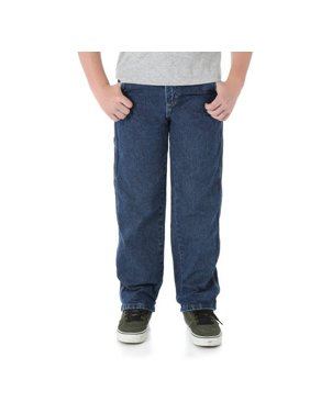 Wrangler Boys Relaxed Carpenter Fit Jeans Sizes 8-16 & Slim