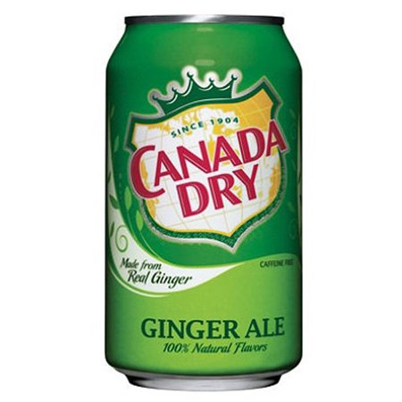 Canada Dry Ginger Ale 12 Oz Can   Pack Of 24