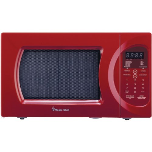 Magic Chef Mcd992r .9 Cubic-ft, 900-watt Microwave With Digital Touch