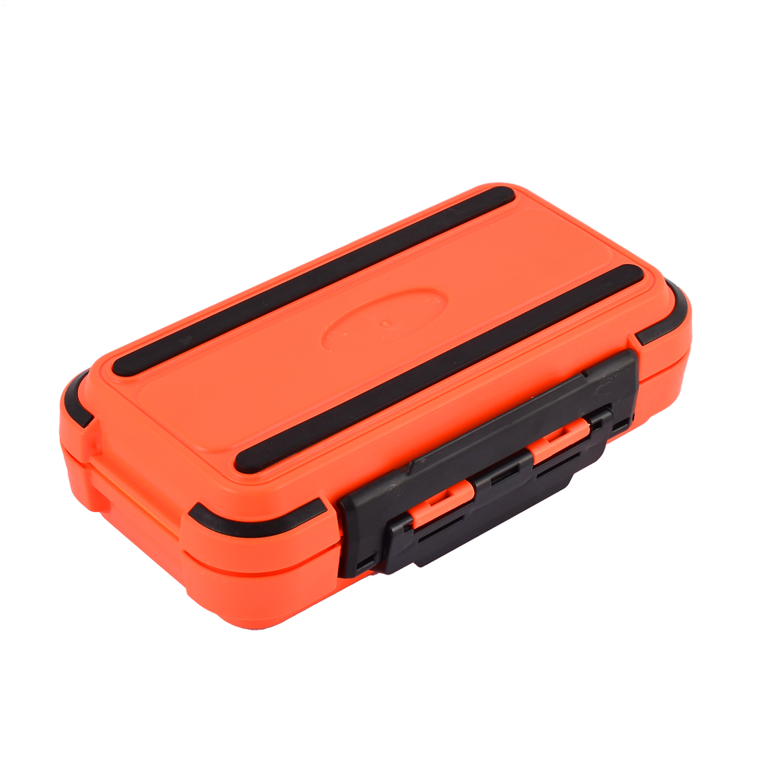 Fishing 24 Compartments Fish Hook Bait Storage Box Case Fishhook Holder Orange