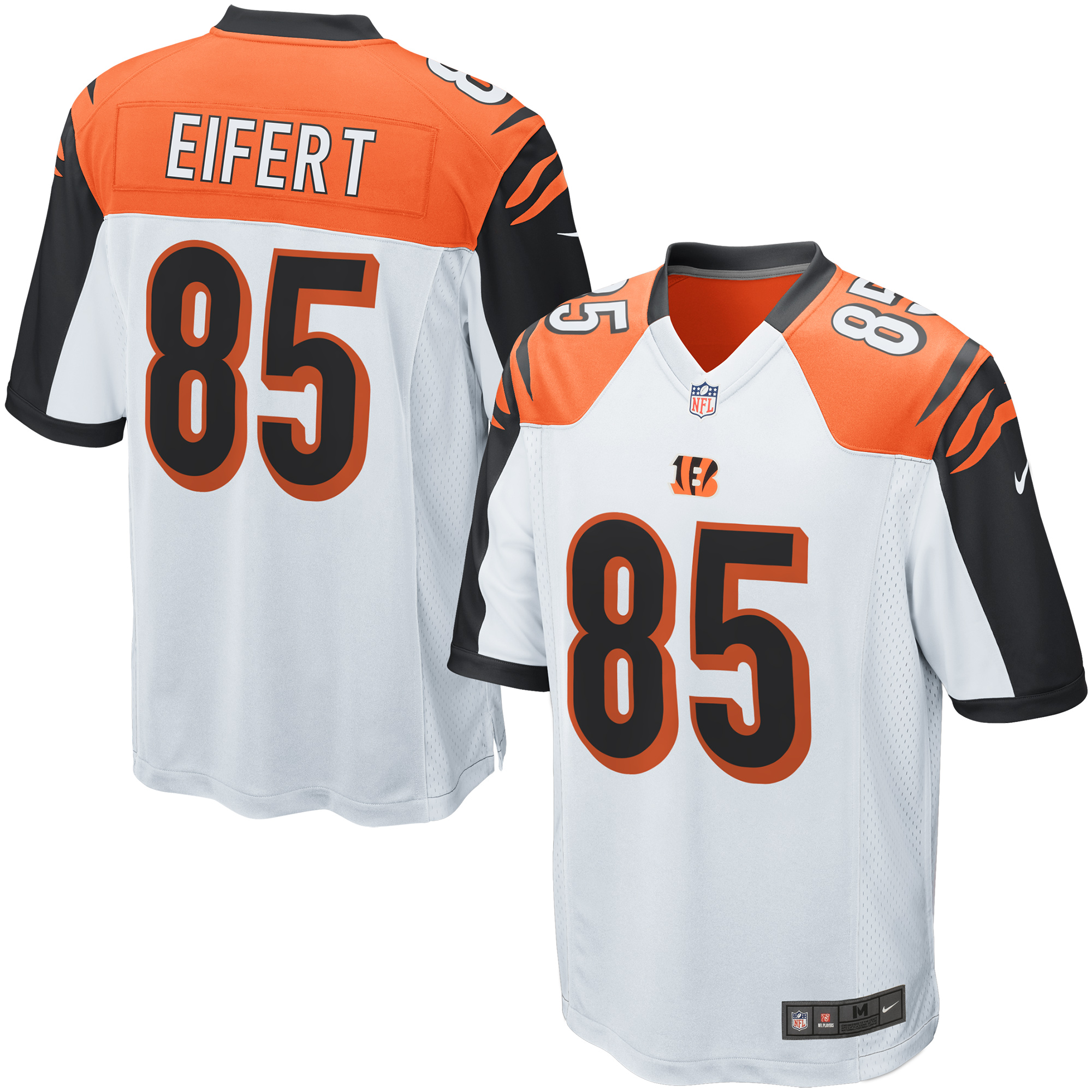Tyler Eifert Cincinnati Bengals Nike Game Jersey - White