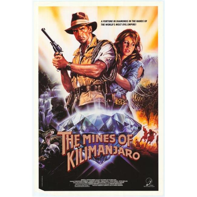 Posterazzi MOVCF4954 Mines of Kilimanjaro Movie Poster - 27 x 40 in. - image 1 de 1
