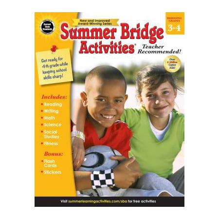 Summer Bridge Activities Bridging Grades 3 to 4 (Halloween Activity Algebra 3)