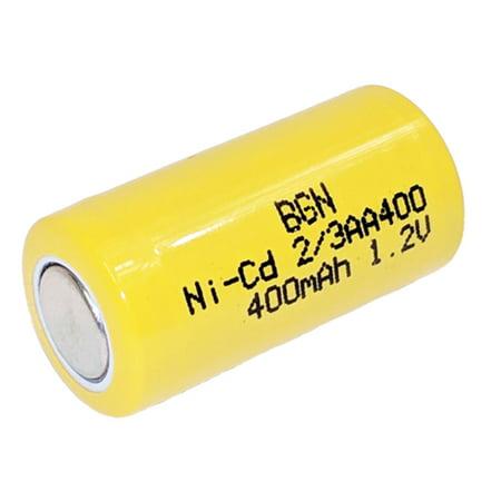 BatteryGuy BGN400 1.20V 400mah Rechargeable Nickel Cadmium Battery Rechargeable Nickel Cadmium Handle