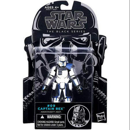 Star Wars The Clone Wars Black Series Captain Rex 3.75