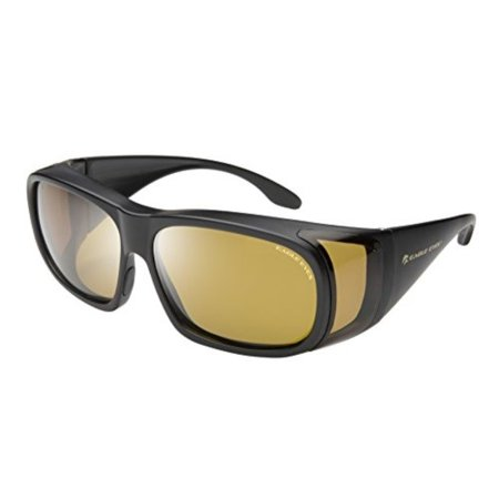 Eagle Eye Converter - eagle eyes sunglasses sta-active fit-ons (matte black) 10035