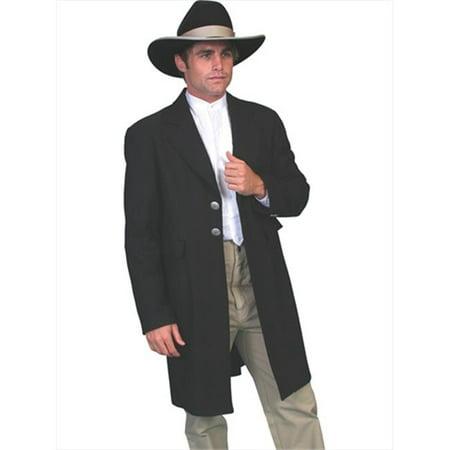 Scully 511099-BLK-46 Mens Wah Maker Coat, Black - 46 - image 1 de 1