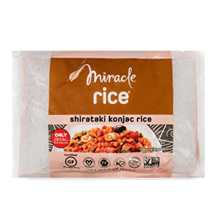 Miracle Noodle, Miracle Rice, 8 oz (pack of 4)