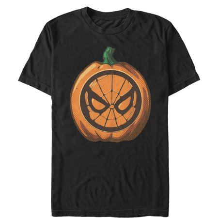 Marvel Men's Halloween Spider-Man Mask Pumpkin - Spiderman Pumpkin Ideas