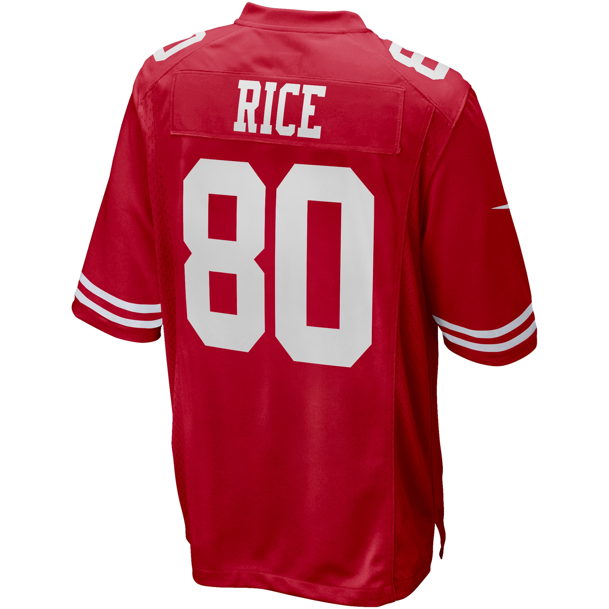Jerry Rice San Francisco 49ers Nike Game Retired Player Jersey - Scarlet