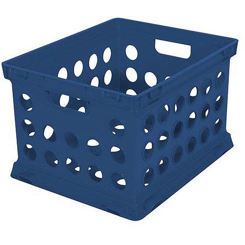 Sterilite File Crate, Mellow Blue Part 88