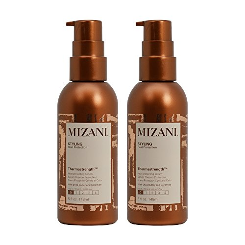 "Mizani Thermastrength Heat-Protecting Serum 5oz ""Pack of 2"""