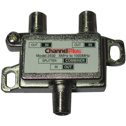 Channel Plus 2532 Splitter/Combiner, 2-Way
