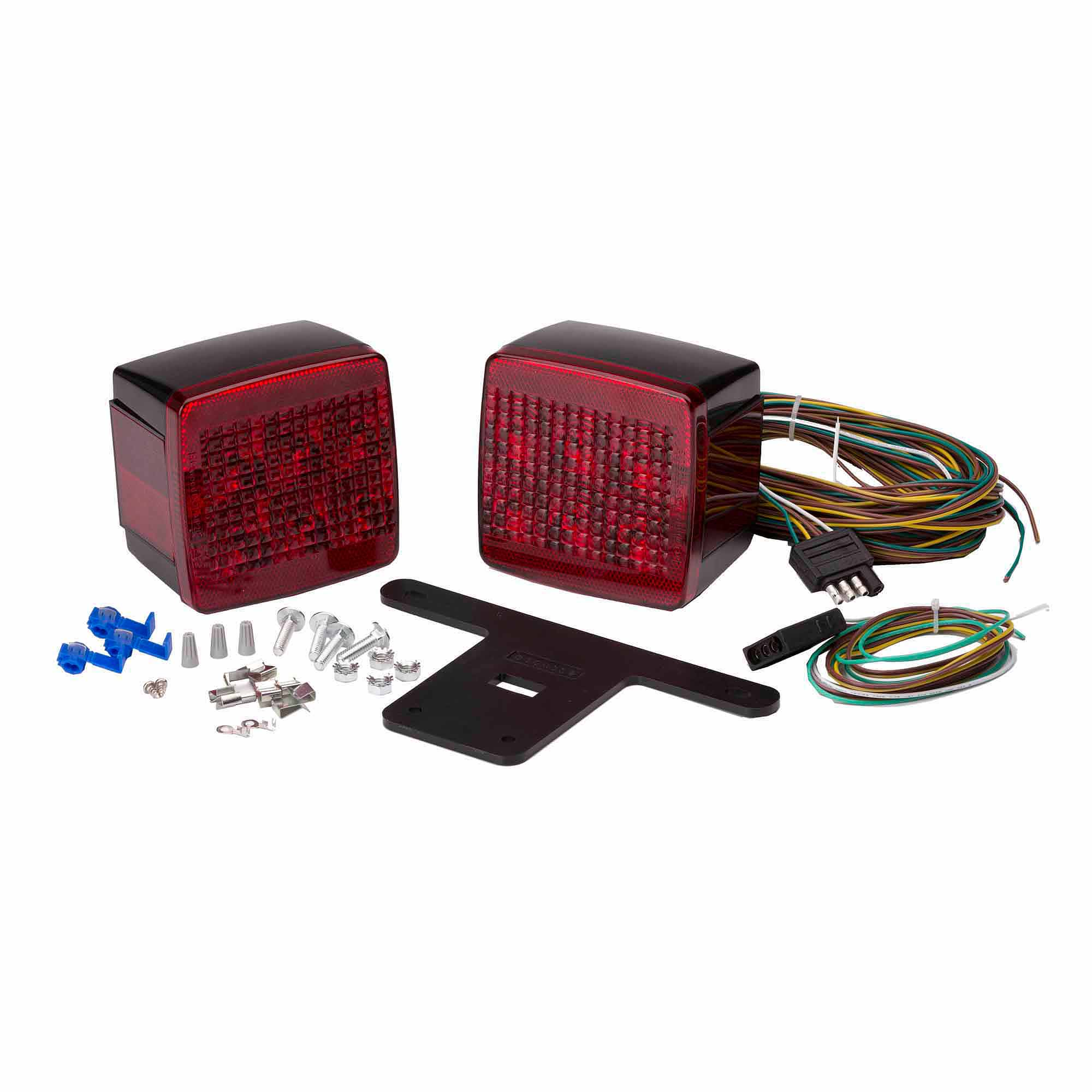 Attwood Led Standard Trailer Light Kit Towing Lights Wiring Diagram