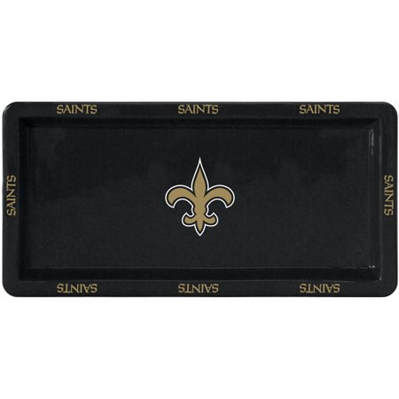 NFL New Orleans Saints Rectangular Game Time Platter by