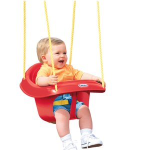 Little Tikes High Back Toddler Swing (Brown Box)