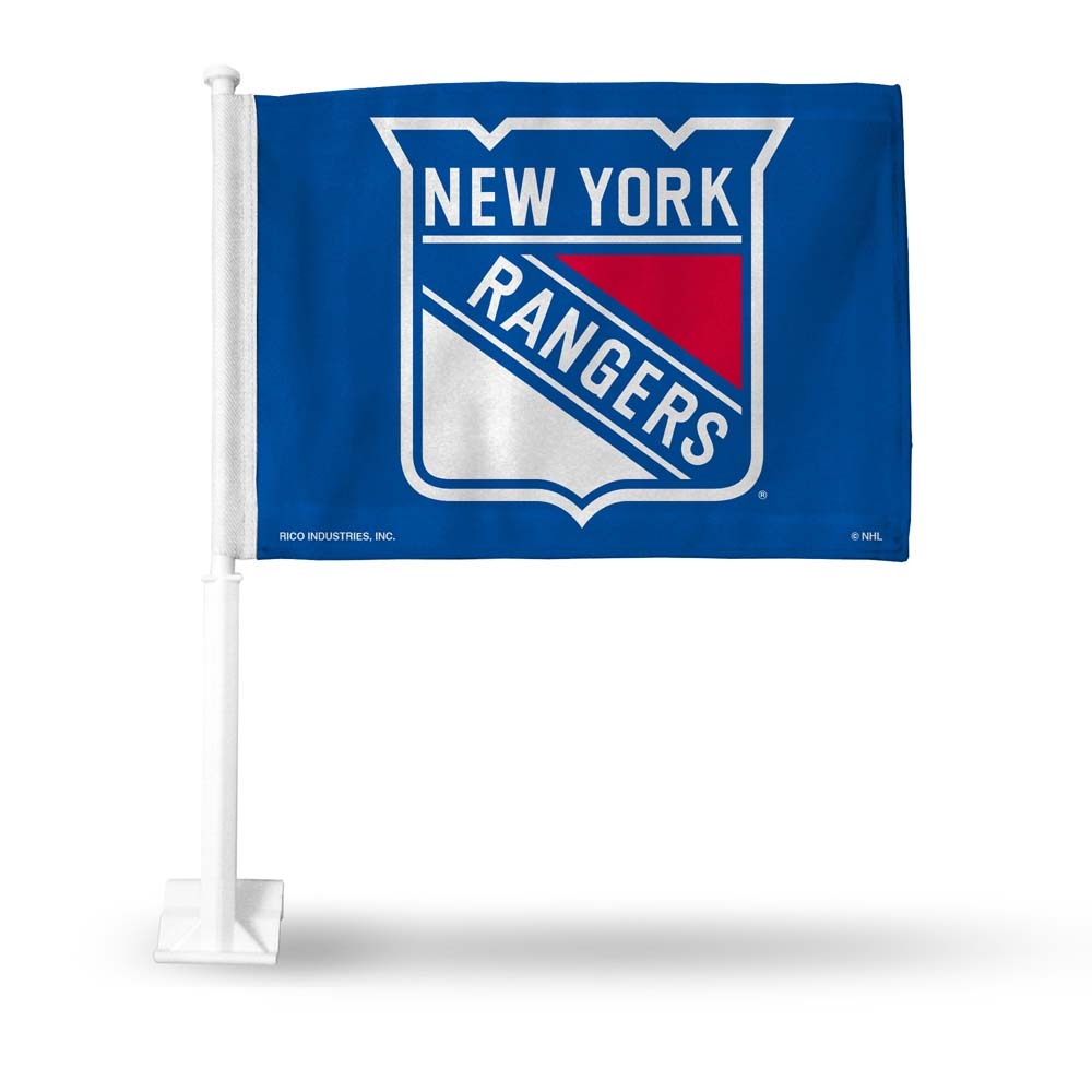 Official NHL New York Rangers Car Flag 113568