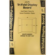 Trifold Poster Boards - Car show display board template