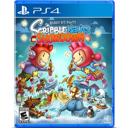 Scribblenauts Showdown, Warner Brothers, PlayStation 4, 883929632114