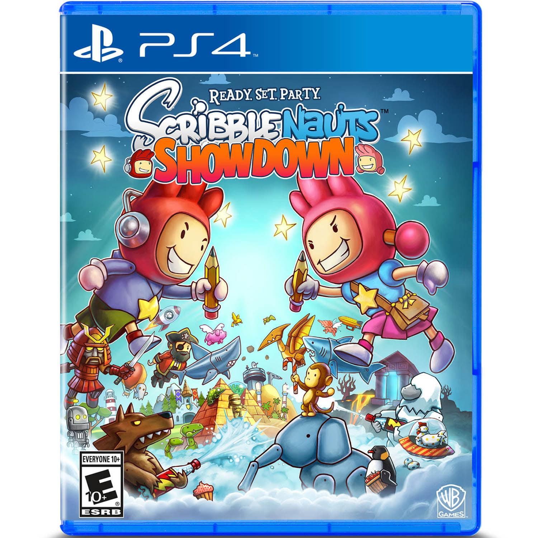 Scribblenauts Showdown, Warner Brothers, PlayStation 4, 883929632114