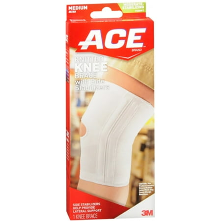 Ace Knee Brace With Side Stabilizers Medium 1 Each Pack