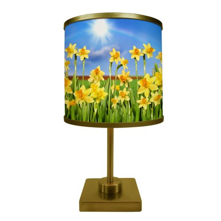 ArtLight Field of Daffodils Table Lamp