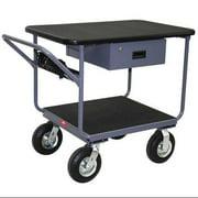 TW236-N8GP Instrument Cart, 1200 lb., Semi-Pneumatic