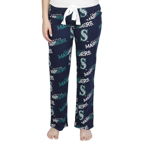 Mlb Seattle Mariners Forerunner Ladies' Aop Knit Pant by Mlb