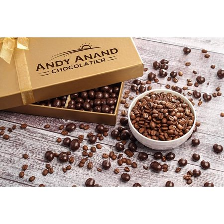 36th Birthday Gift Basket, Plush Teddy Bear & Premium California Vegan Chocolate Coated Coffee Beans 1 lbs, Personalized Handwritten Birthday Card